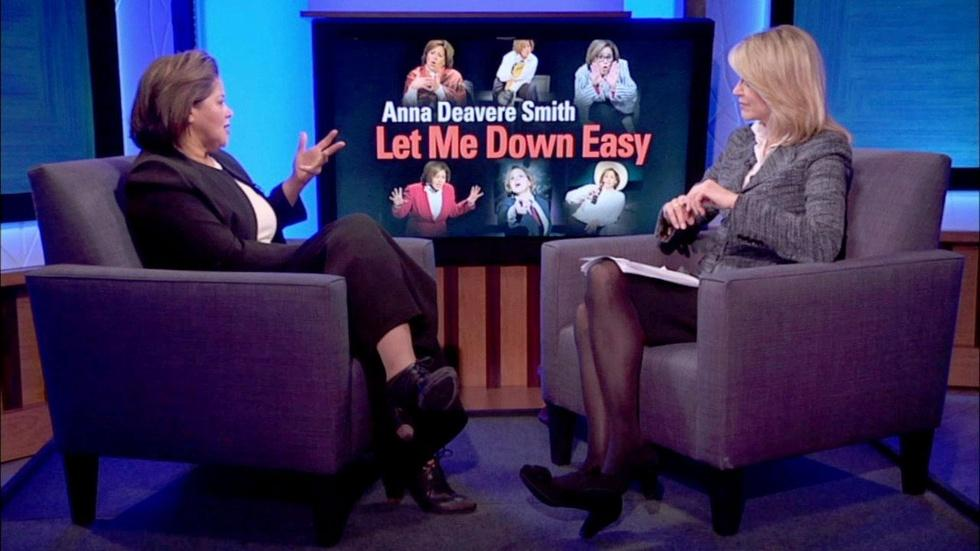 Paula Zahn Interviews Anna Deavere Smith image
