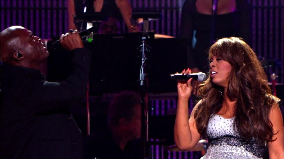 "Seal and Donna Summer sing ""Crazy"" image"