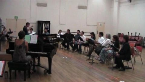 Il Postino: First Musical Rehearsal