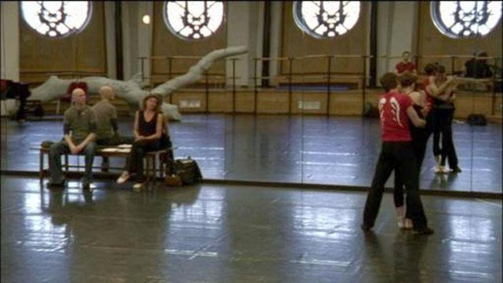 La Danse: Rehearsal with Wayne McGregor image