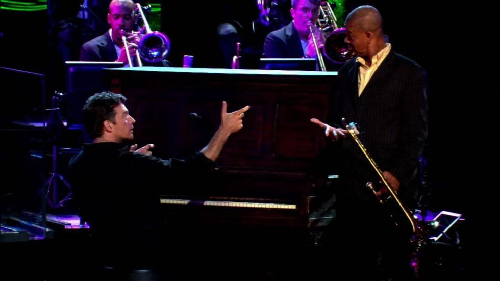 "Harry Connick Jr. performs ""Take Her to Mardi Gras"" image"