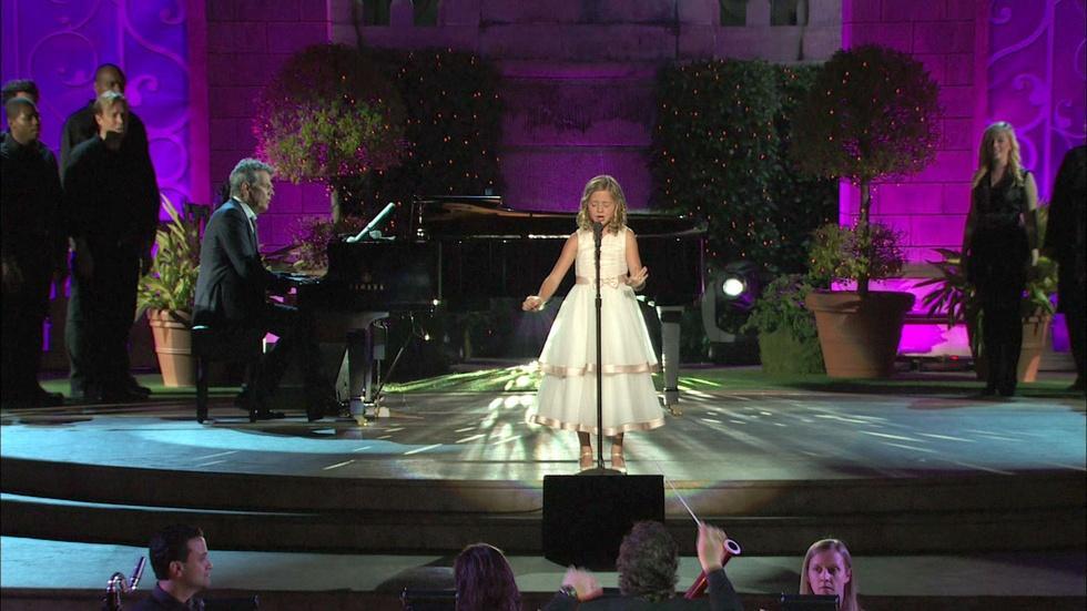 """Jackie Evancho sings """"Angel"""" image"""