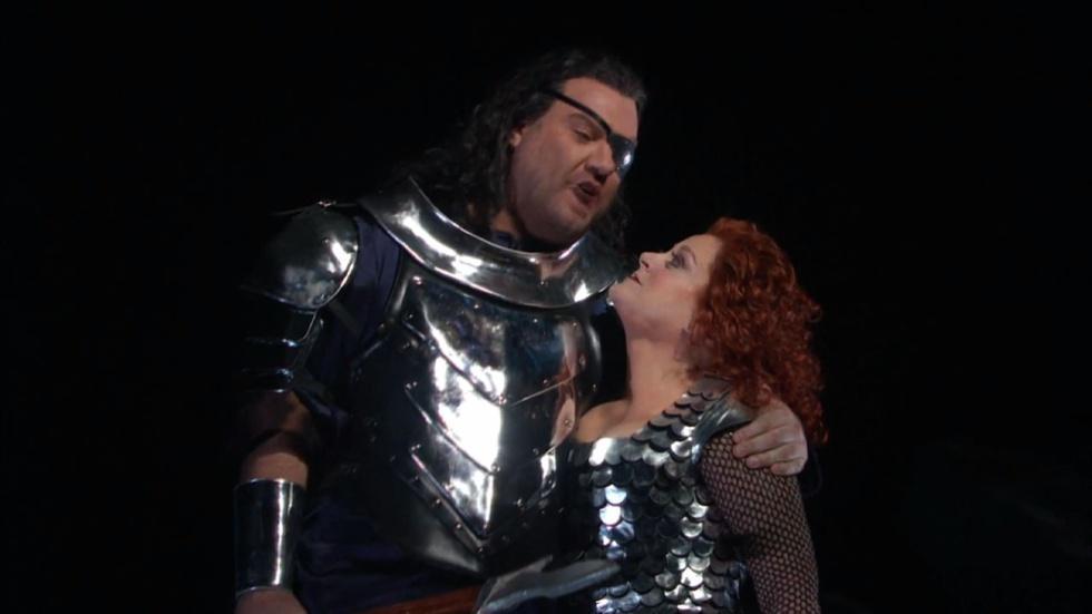 Deborah Voigt and Bryn Terfel in Die Walküre  image