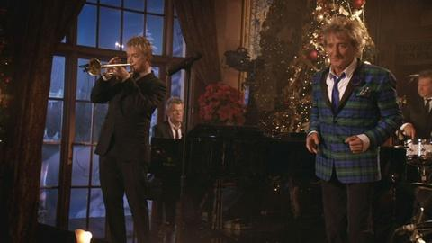 Great Performances -- Rod Stewart: Merry Christmas, Baby Preview