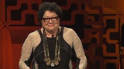 Hispanic Heritage Awards -- Justice Sotomayor