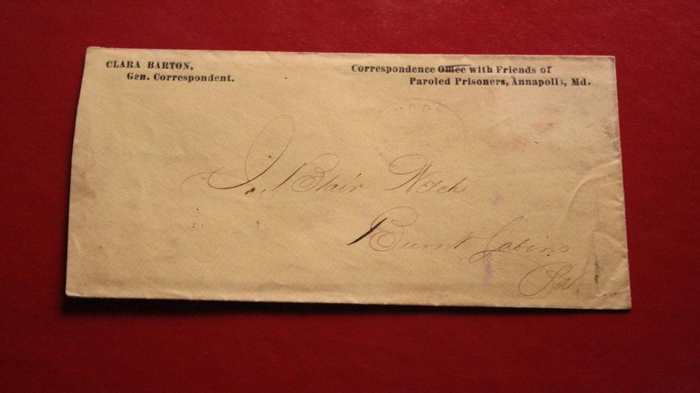 Clara Barton Letter image
