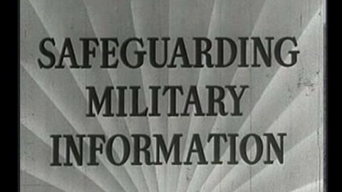 History Detectives -- Safeguarding Military Secrets