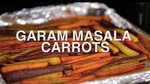 How Does It Grow -- Garam Masala Carrots Recipe