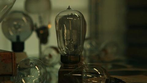 The invention of the light bulb