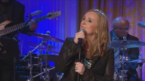 "In Performance at The White House -- Melissa Etheridge Performs ""Neither One of Us"""
