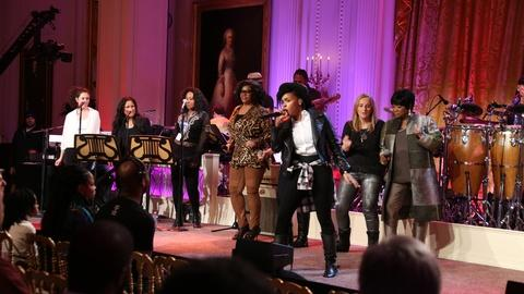 In Performance at The White House -- Women of Soul Preview