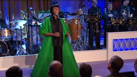 "In Performance at The White House -- Patti LaBelle Performs ""Over the Rainbow"""