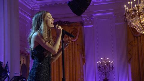 "In Performance at The White House -- Ariana Grande Performs ""I Have Nothing"""
