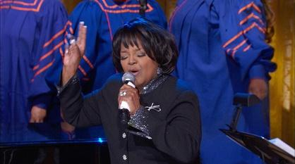 "In Performance at The White House -- Shirley Caesar Performs ""Sweeping Through the City"""