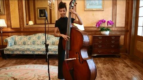 In Performance at The White House -- Esperanza Spalding: Behind the Scenes Performance