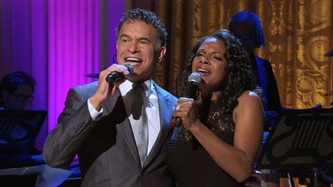 In Performance at The White House -- Brian Stokes Mitchell and Audra McDonald