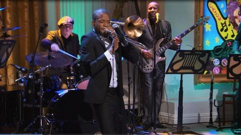 In Performance at The White House -- Trombone Shorty