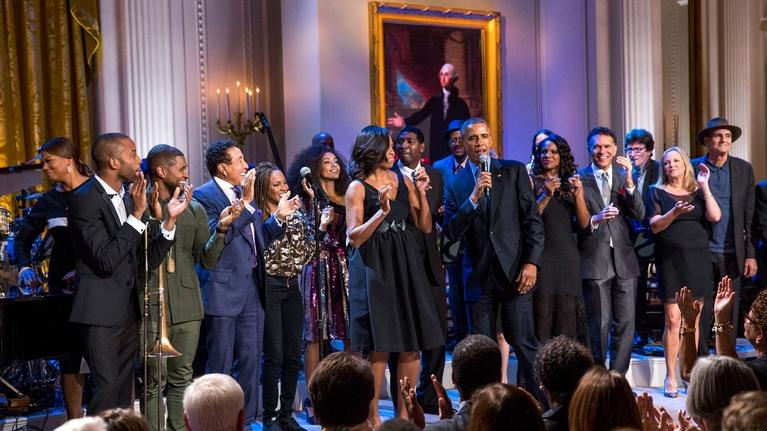 In Performance at The White House: A Celebration of American Creativity