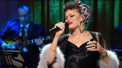 "In Performance at The White House -- Andra Day Performs ""Drown in My Own Tears"""