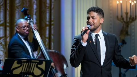 "In Performance at The White House -- Jussie Smollett Sings ""I Got A Woman"""