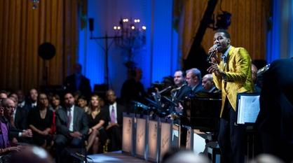 "In Performance at The White House -- Leon Bridges Performs ""Lonely Avenue"""