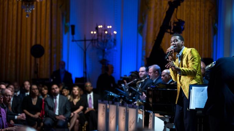 "In Performance at The White House: Leon Bridges Performs ""Lonely Avenue"""