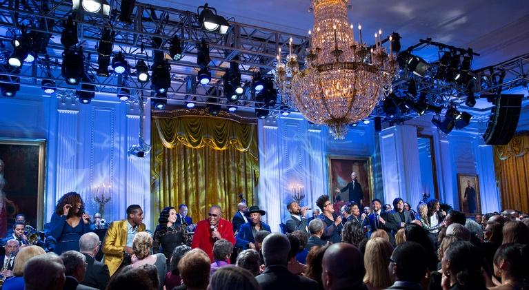 In Performance at The White House: Smithsonian Salutes Ray Charles