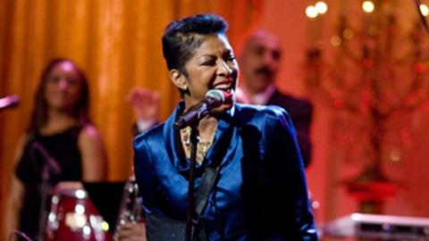"In Performance at The White House -- Exclusive Natalie Cole ""I Wish I Knew How it Would Feel..."