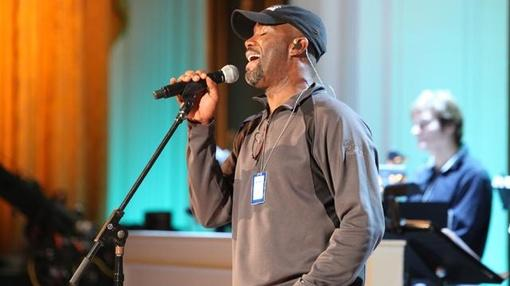 In Performance at The White House : Educational Workshop: Darius Rucker