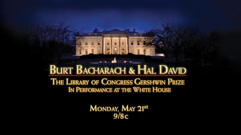 In Performance at The White House -- Burt Bacharach and Hal David: The Library of Congress...