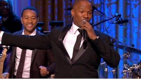 In Performance at The White House -- The Motown Sound: Jamie Foxx and Opening Medley