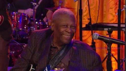 In Performance at The White House -- Talking about B.B. King