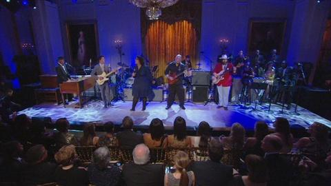 In Performance at The White House -- Alabama Shakes Born Under A Bad Sign