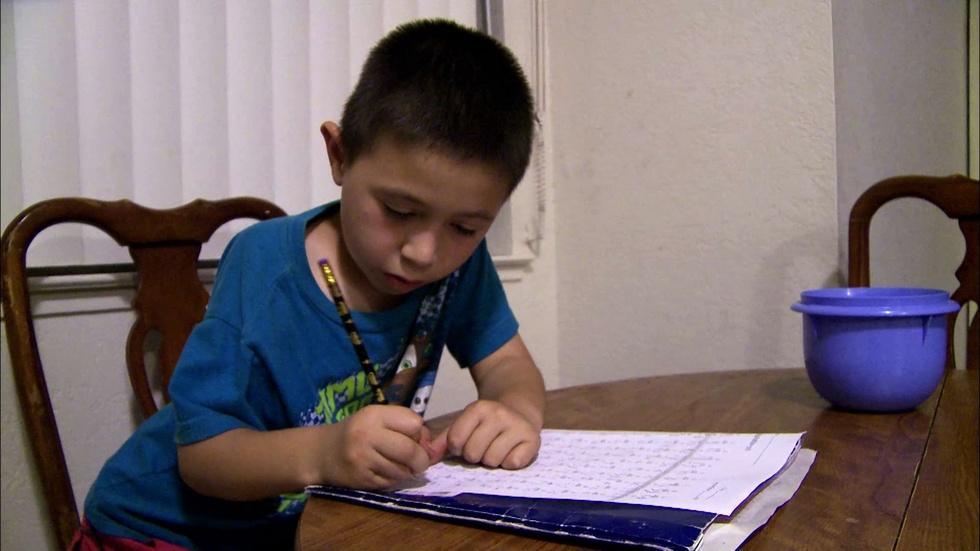 East of Salinas: Jose Does His Homework image