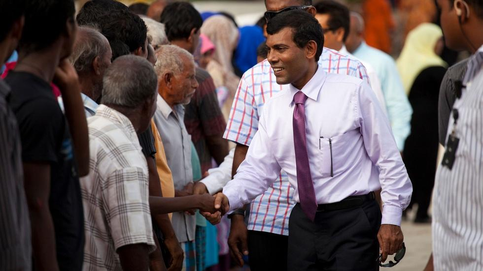 The Island President: Mohamed Nasheed Confronts Climate Chan image