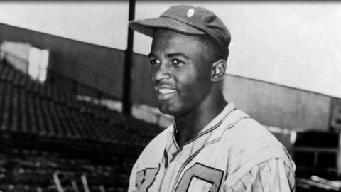 JACKIE ROBINSON -- The Negro Leagues