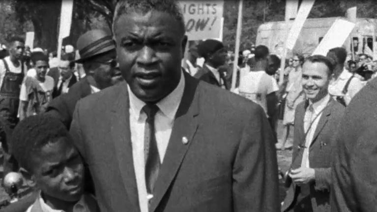 JACKIE ROBINSON: March on Washington