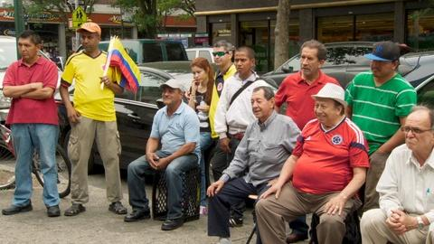 In Jackson Heights -- A Colombia Match in Jackson Heights