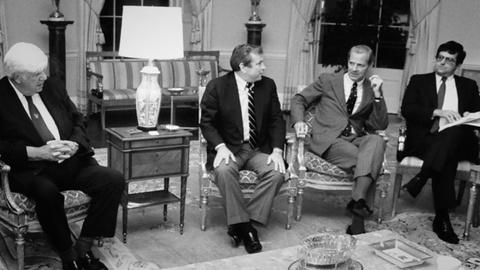 James Baker -- Baker's Effectiveness as Reagan's Chief-of-Staff