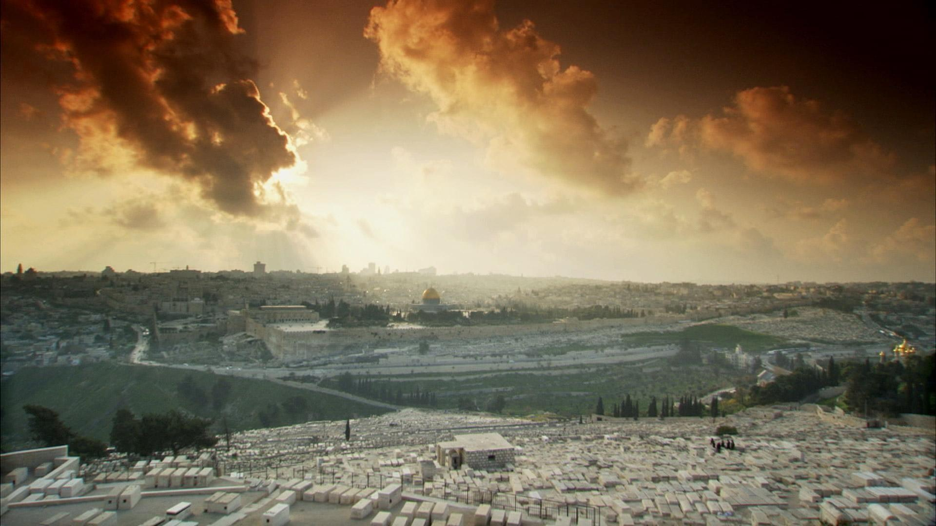 jerusalem center of the world Directed by andrew goldberg the history of the city of jerusalem is told from it's beginning as a cannanite city that abraham was led to by god up to the modern day.