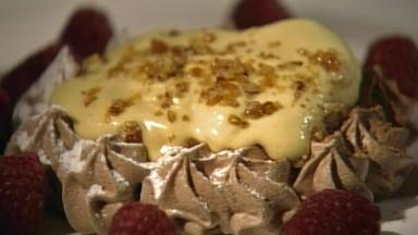 Meringues and Tropical Fruit Napoleon with Charlotte Akoto