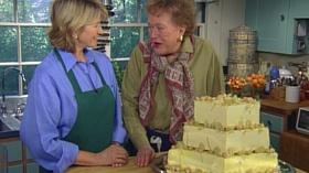 Video Thumbnail Baking With Julia A Three Tiered Wedding Cake Martha Stewart