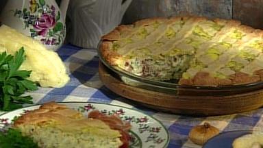 Savory Pizza Rustica with Nick Malgieri