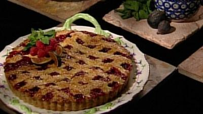 Baking With Julia | Raspberry-Fig Crostata with Flo Braker and Leslie Mackie