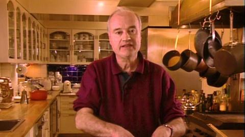 Julia Child: Cooking With Master Chefs -- Tarte flambee with Andre Saltner