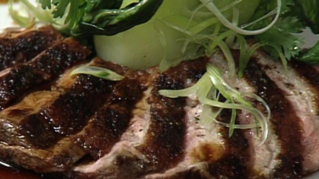 Muscovy Duck Breast with Chinese Spices with Alfred Portale
