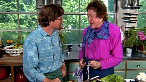 In Julia's Kitchen With Master Chefs -- Rustic Jicama Salad with Rick Bayless