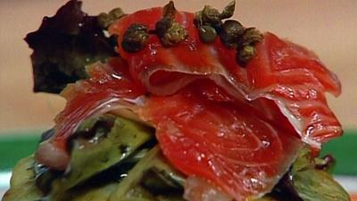 In Julia's Kitchen With Master Chefs | Tequila Cured Gravlax with Monique Barbeau