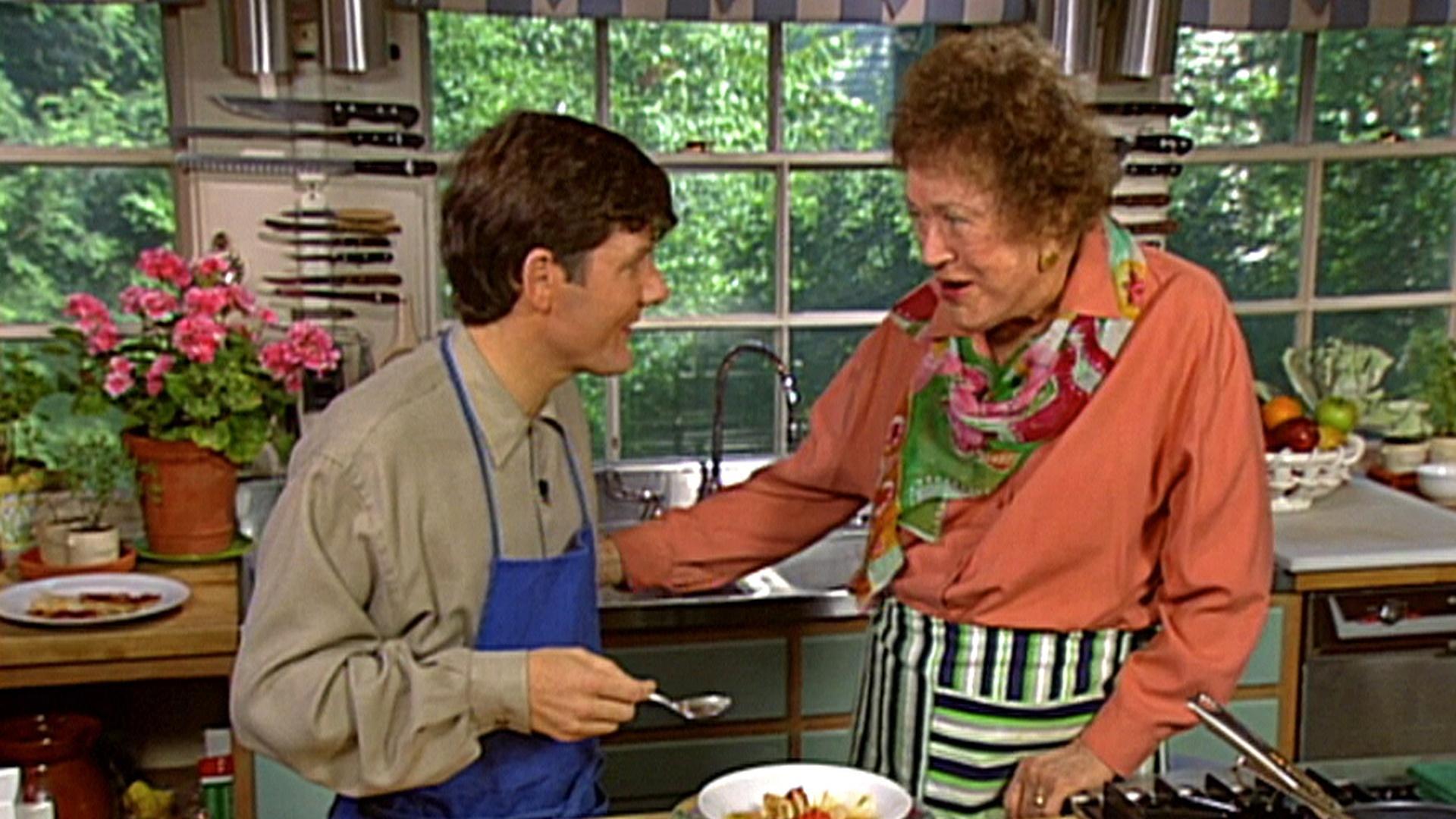 In Julia S Kitchen With Master Chefs Episodes