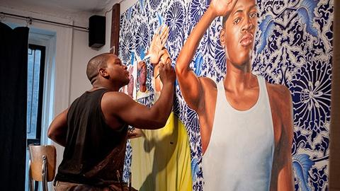 PBS Arts -- Kehinde Wiley: An Economy of Grace